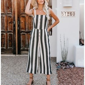 Beach House Pocketed Jumpsuit